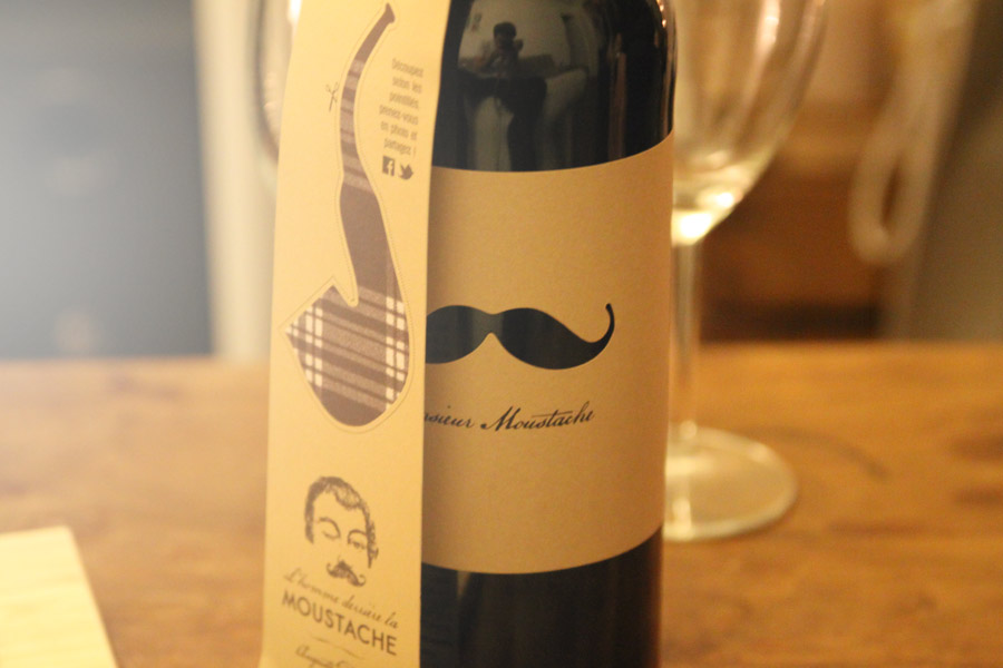 vin Mr Moustache