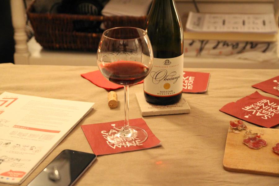 Dégustation du vin Obecanje