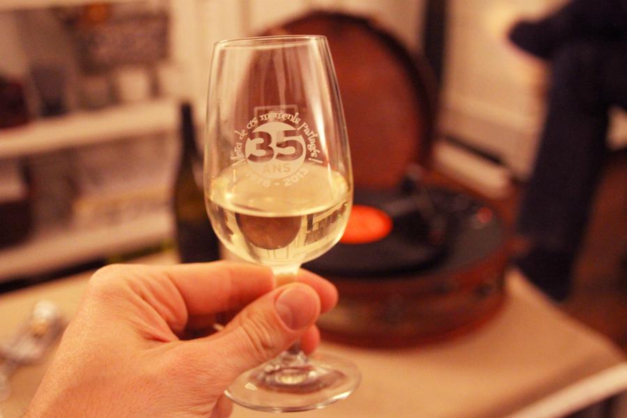 Verre vin Peylong