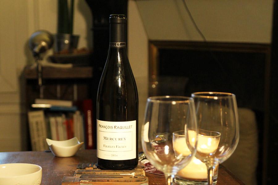 Mercurey vin blanc