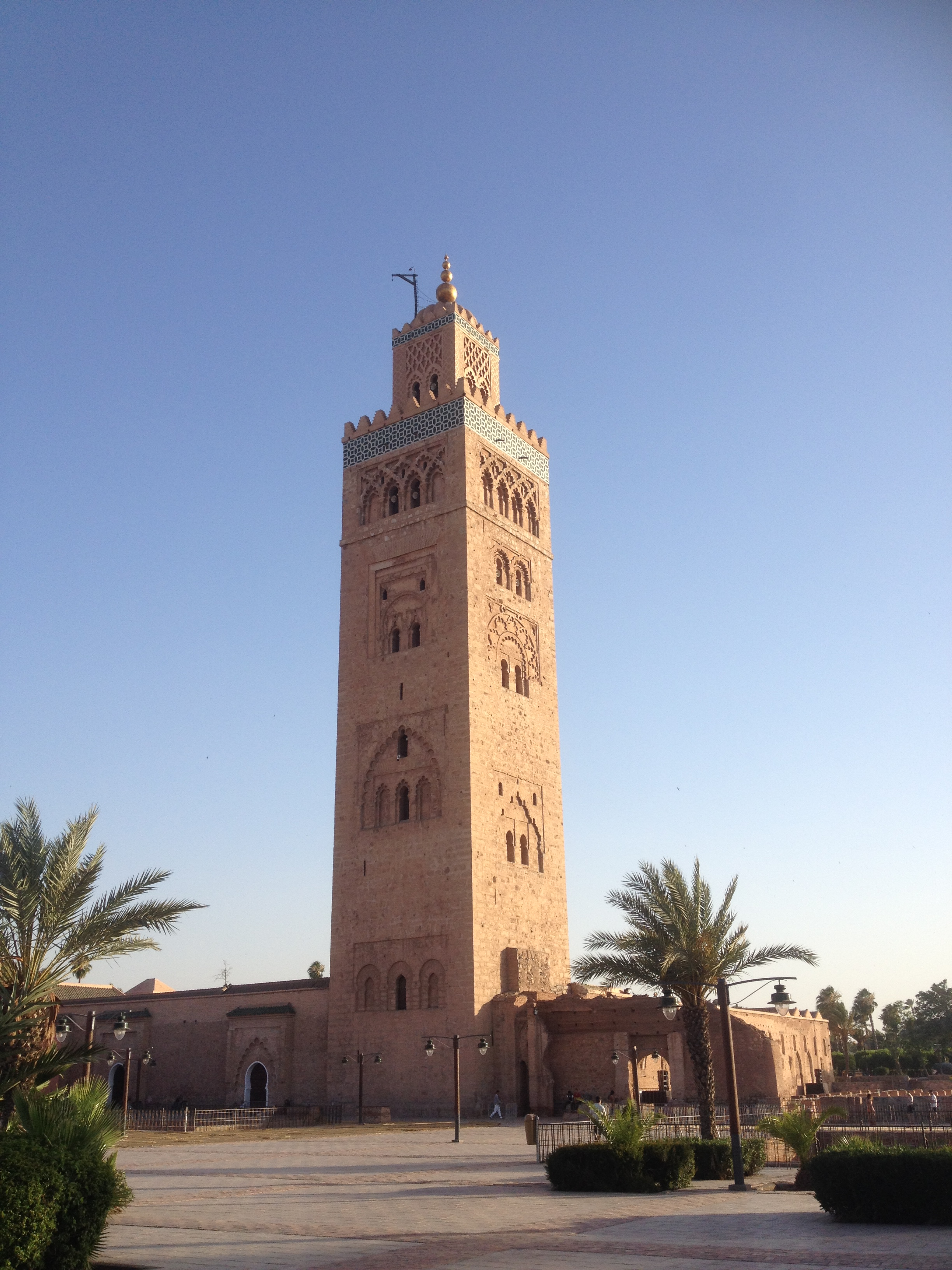 La Koutoubia, l'appel du Muezzin...