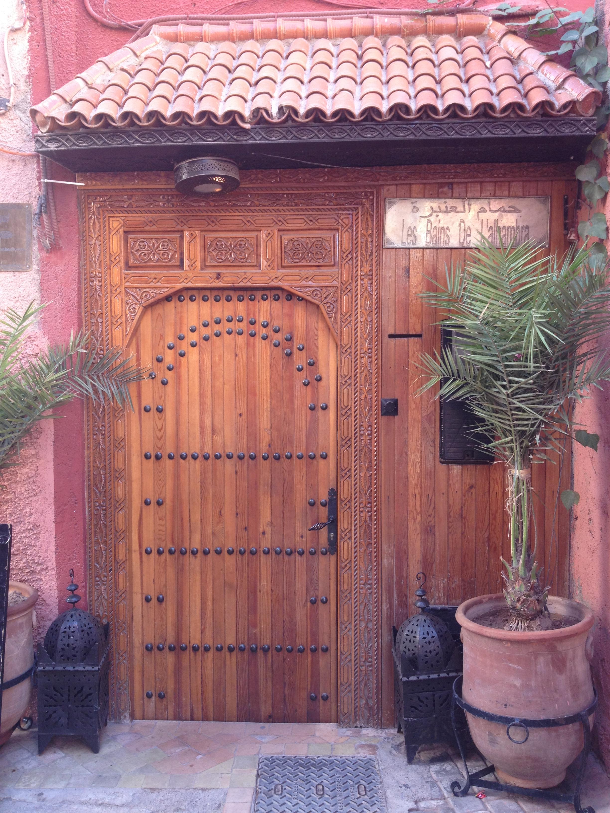 Les bains de l'Alhambra, lieu typique et insolite de Marrakech, à faire !