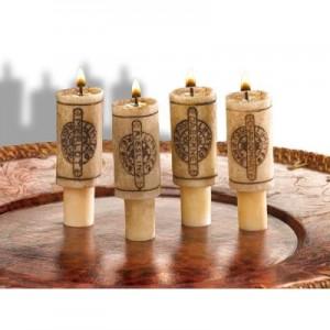 bougies bouchon vin