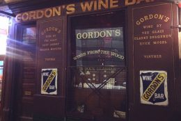 The oldest wine bar in London…