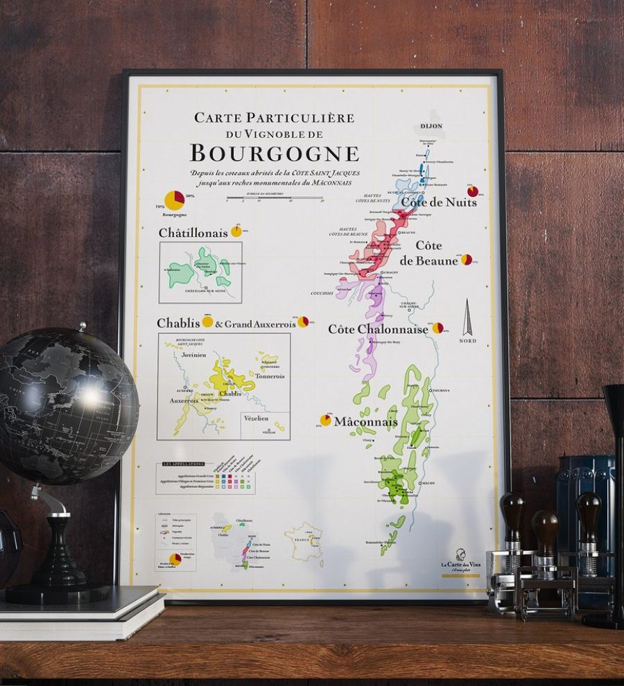 Plusieurs choix de posters chez «La carte des vins s'il vous plait» – 18€