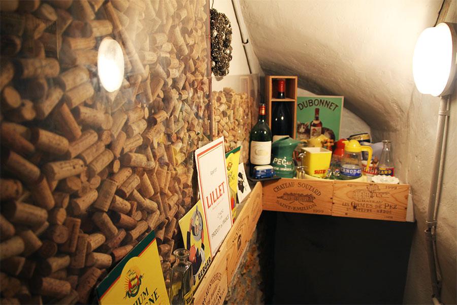 Cave amateur de vin