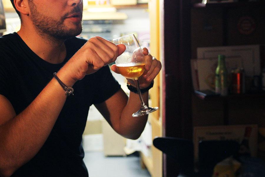 Dégustation vin jaune