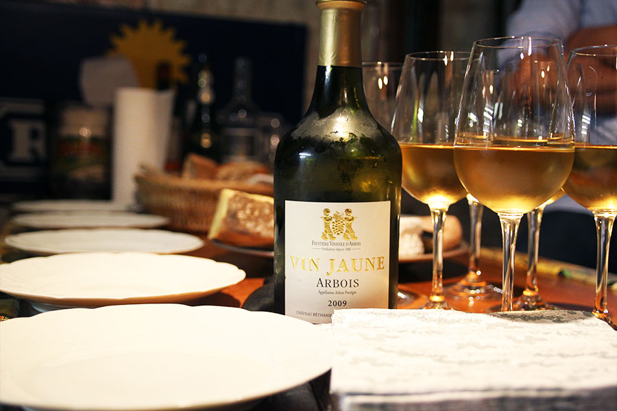 Darbois vin jaune Jura