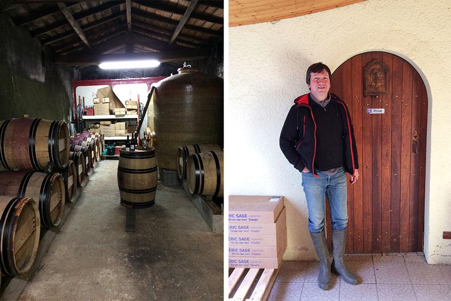 Erice Sage, vigneron Fiefs Vendéens