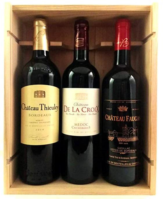 coffret bois vin